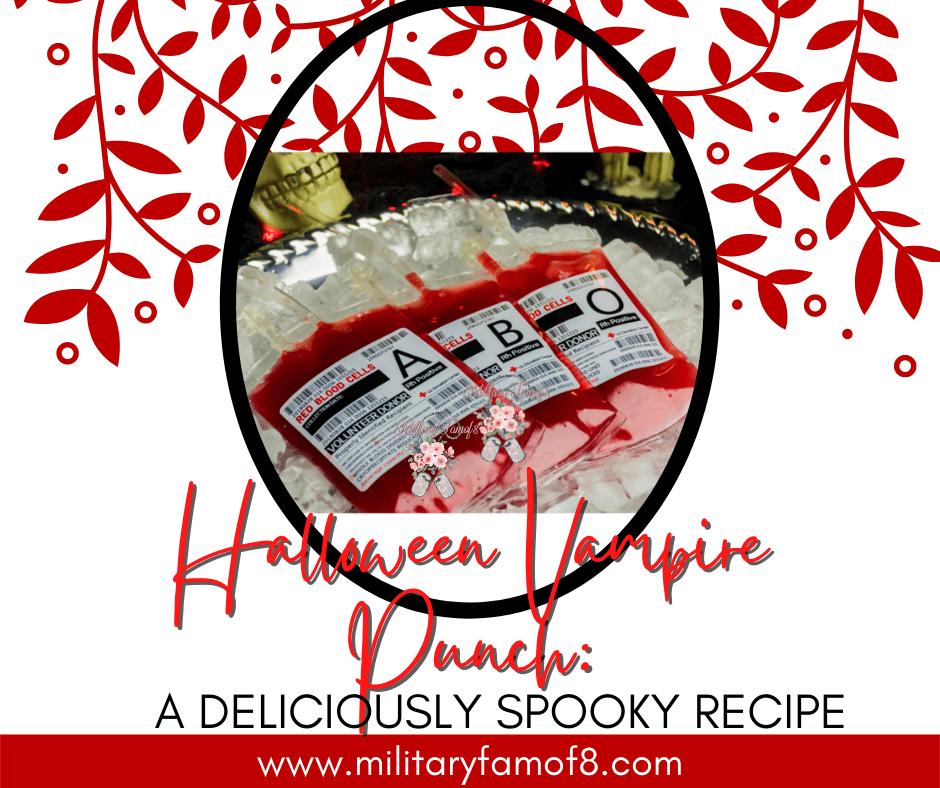 Halloween Vampire Punch: A Deliciously Spooky Recipe