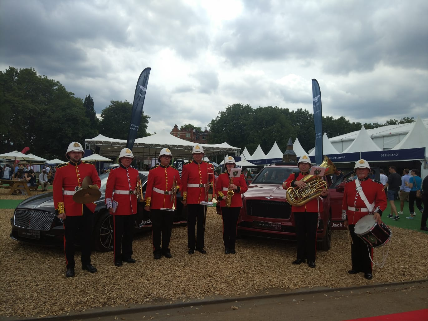 MFL Brass Band at the Longines Global Champions Tour