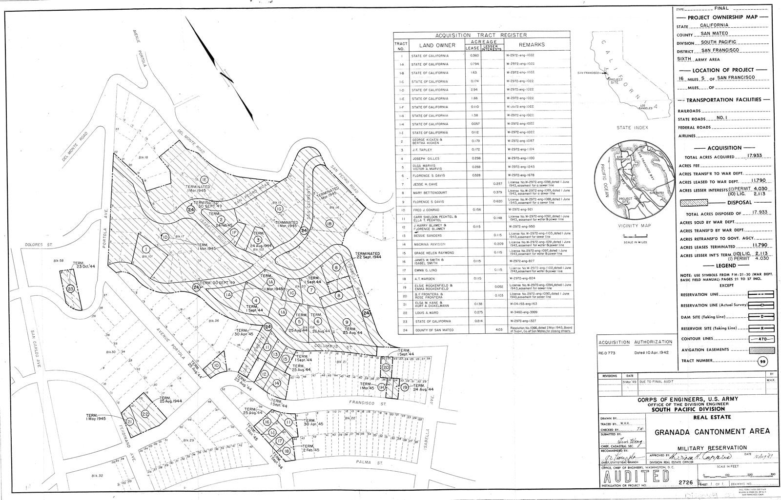 Granada Cantonment Area