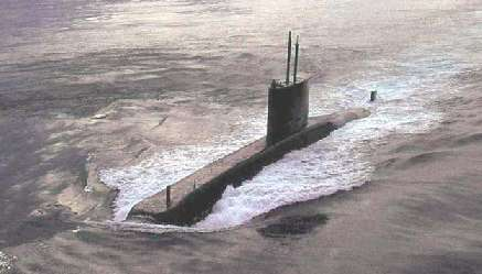 Submarino Tipo 209 (http://www.militarypower.com.br)