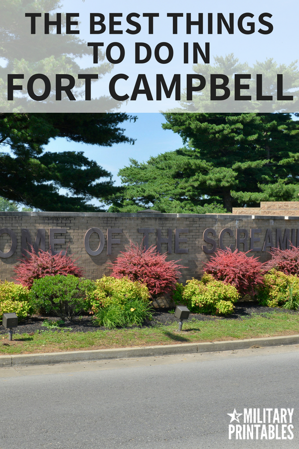 the best things to do in fort campbell Kentucky #fortcampbell #armylife #army