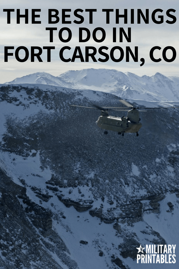 The Best Things To Do In Fort Carson, Colorado #Army #armylife #fortcarson #military #colorado