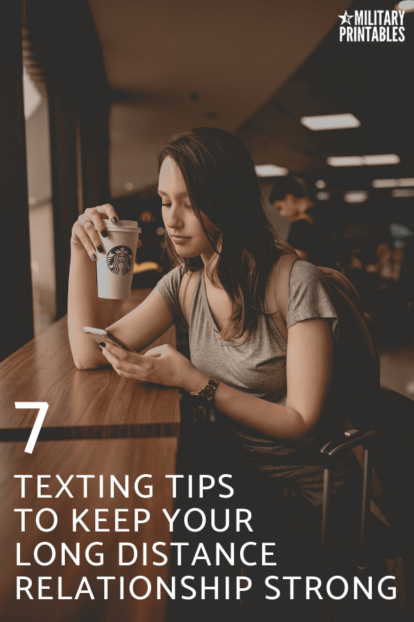 7 Helpful Texting Tips To Keep Your Long Distance Relationships Strong #longdistancerelationship #ldr #longdistancerelationships #longdistancelove