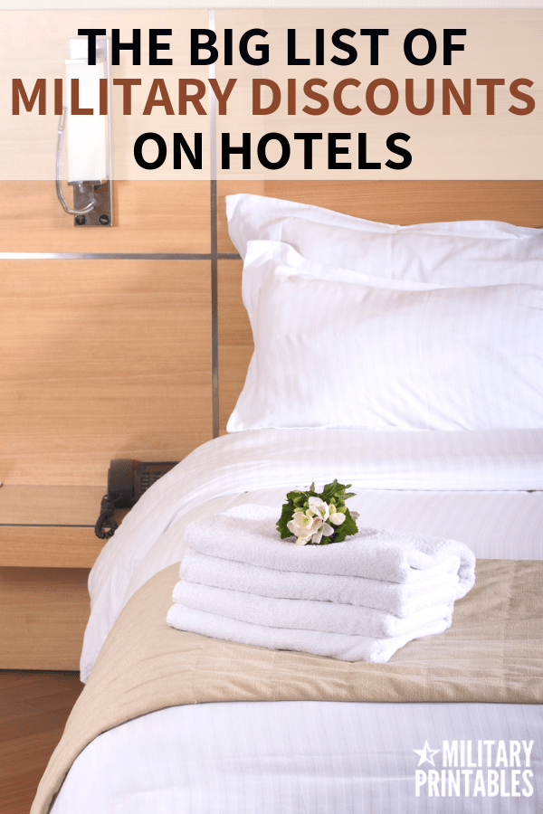 The Best Military Discounts For Hotels You Should Know About #military #militarydiscount #militarylife #militaryfamily