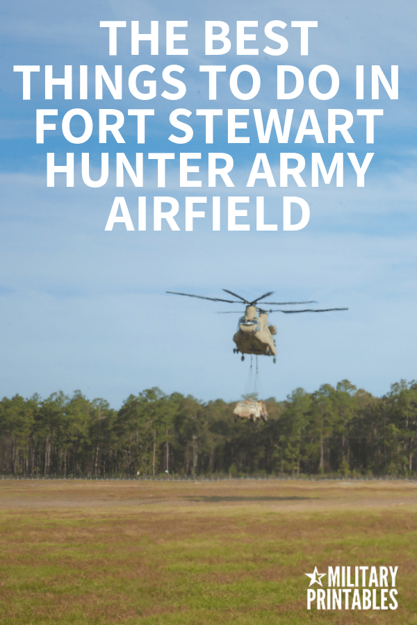 The Best Things To Do In Fort Stewart and Hunter Army Airfield, Georgia #armylife #military #army #armyfamily