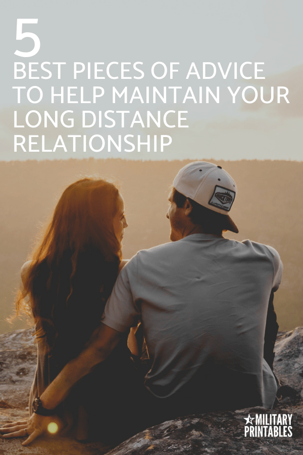 5 Best Pieces Of Advice To Help Maintain Your Long Distance Relationship. LDR tips for couples. #longdistancerelationship #ldr #longdistancerelationships #longdistancelove
