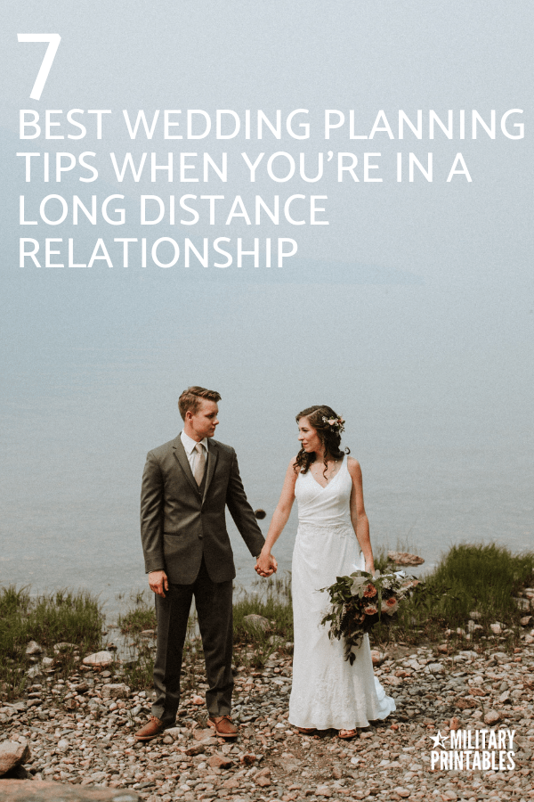 7 Wedding Planning Tips When You're In A Long Distance Relationship #longdistancerelationship #longdistancerelationships #ldr #longdistancelove #wedding