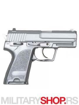 Airsoft replika pistolja usp HEAVY WEIGHT Srebrni GAH-9804S