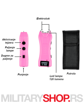 Tejzer Sabre USA u crnoj i pink boji