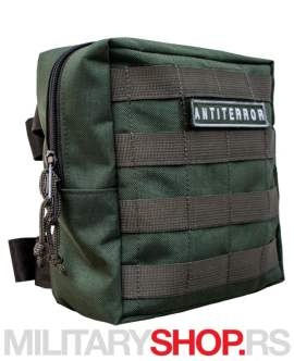Butna torbica sa molle sistemom Antiterror zelena