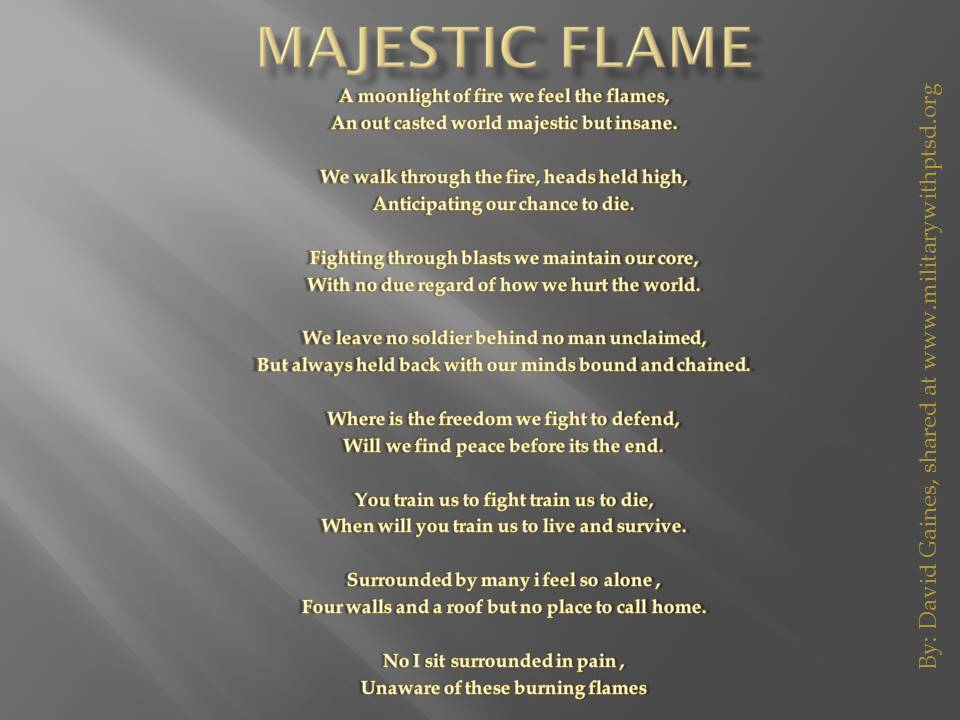 Majestic flame