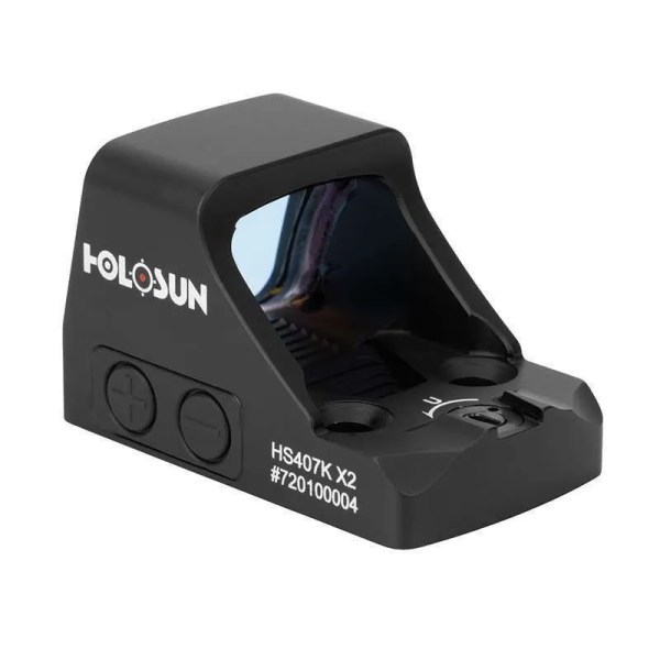 Holosun 407K-X2 Pistol Red Dot Sight Rear