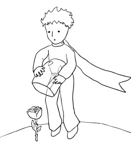 Drawing The little prince