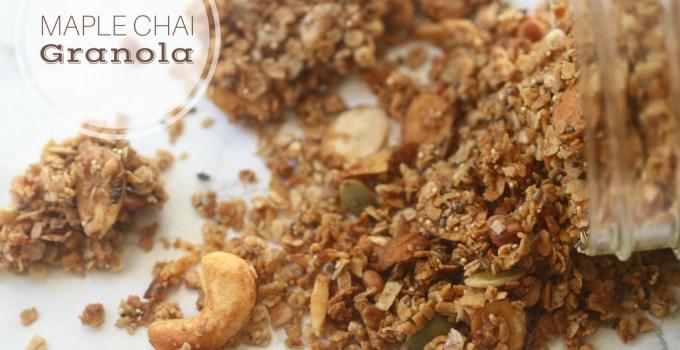 Chai Maple Granola