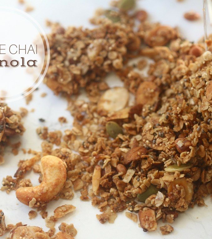 Chai Maple Granola