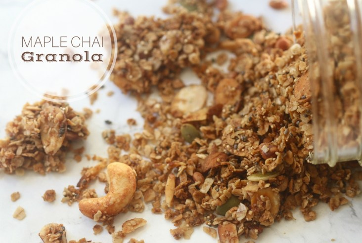 Maple Chai Granola