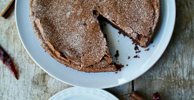Amaranth Mexican Chocolate Cake