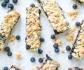 blueberry lemon crumb bars made with lemon blueberry chia jam recipe