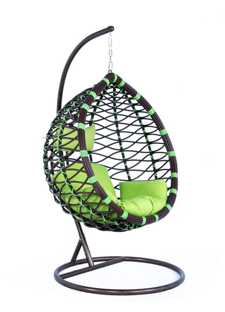 schwartz wicker hanging egg swing chair with stand