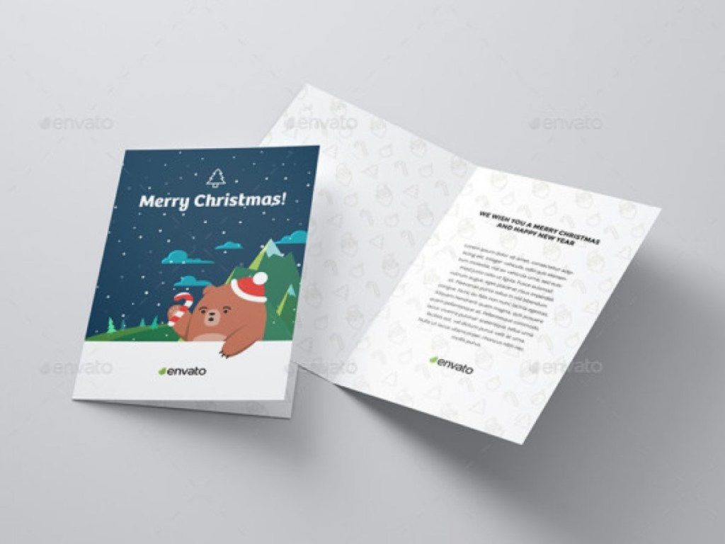 30 greeting card mockup design template for designers