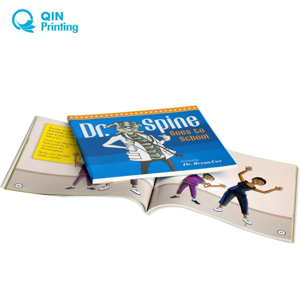china supreme quality softcover book printing service