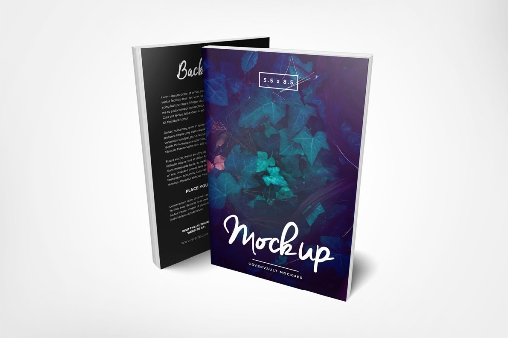 covervault free psd mockups for books and more
