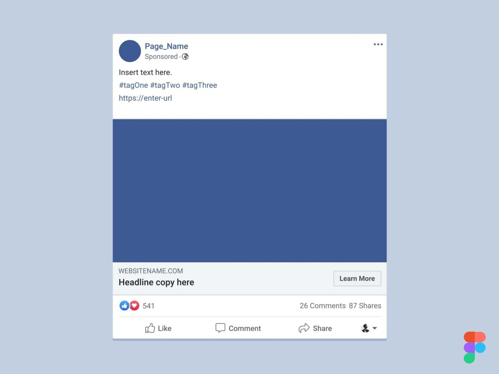 facebook ad mockup presentation facebooks layout had some