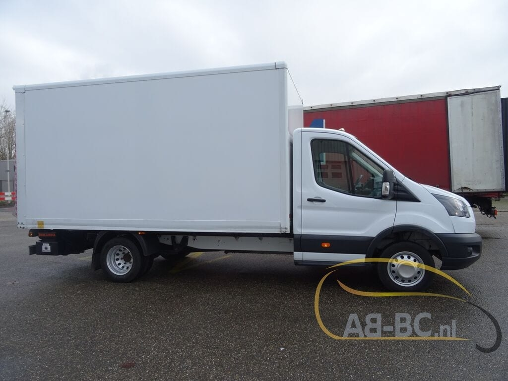 ford transit 20tdci 130pk euro 6 box truck with tailgate