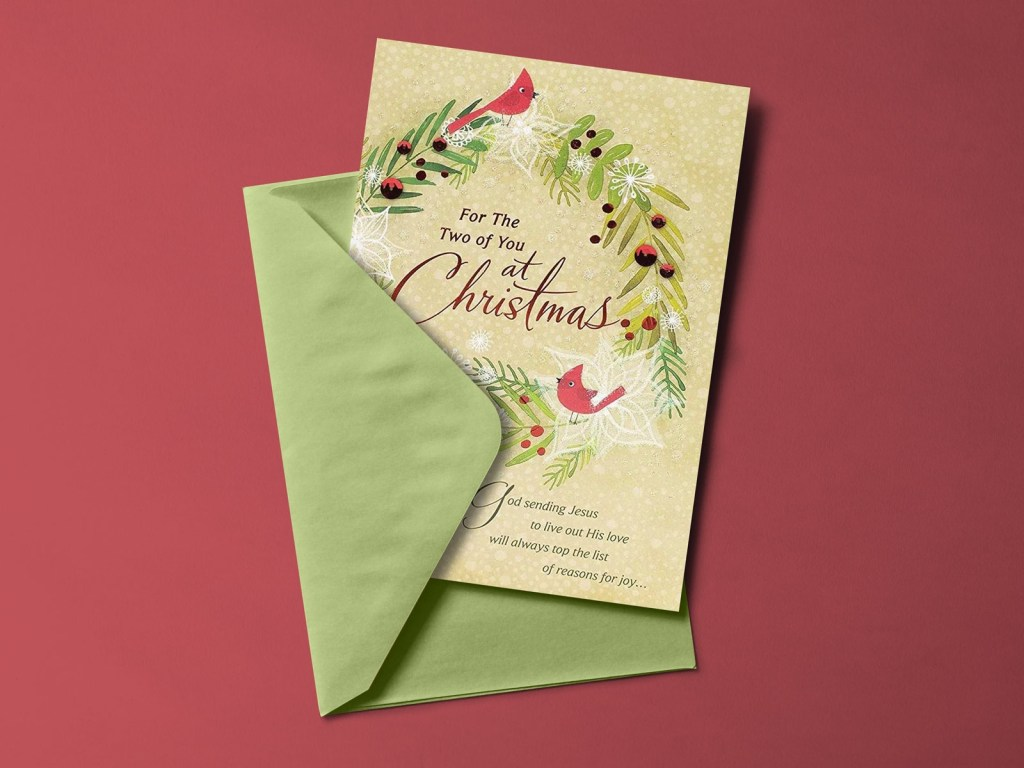free greeting card mockup psd free mockup download