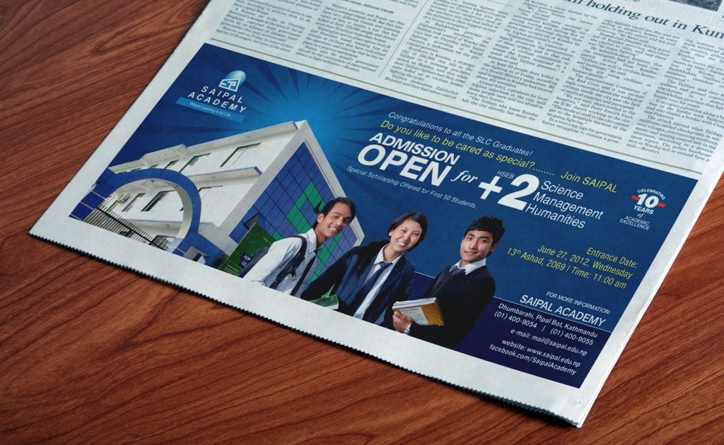 free newspaper horizontal print ad mockup psd good mockups