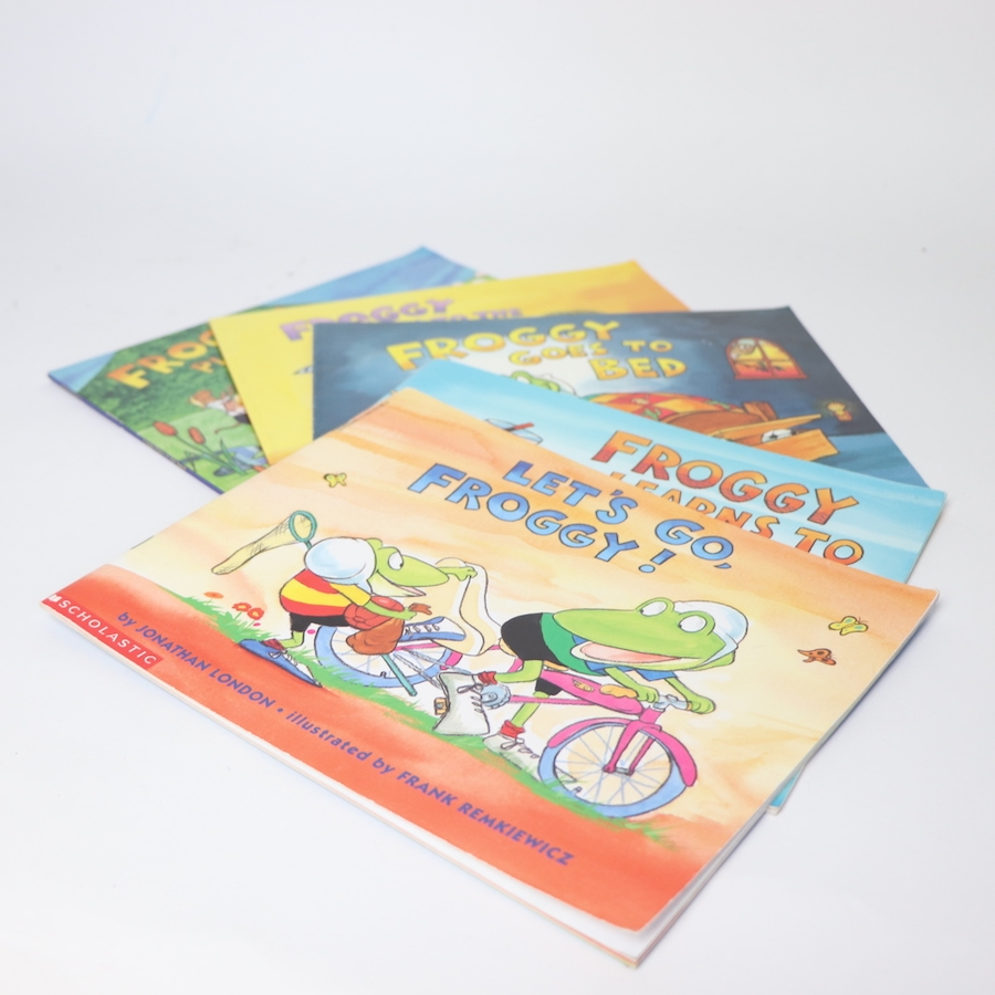 froggy softcover book set