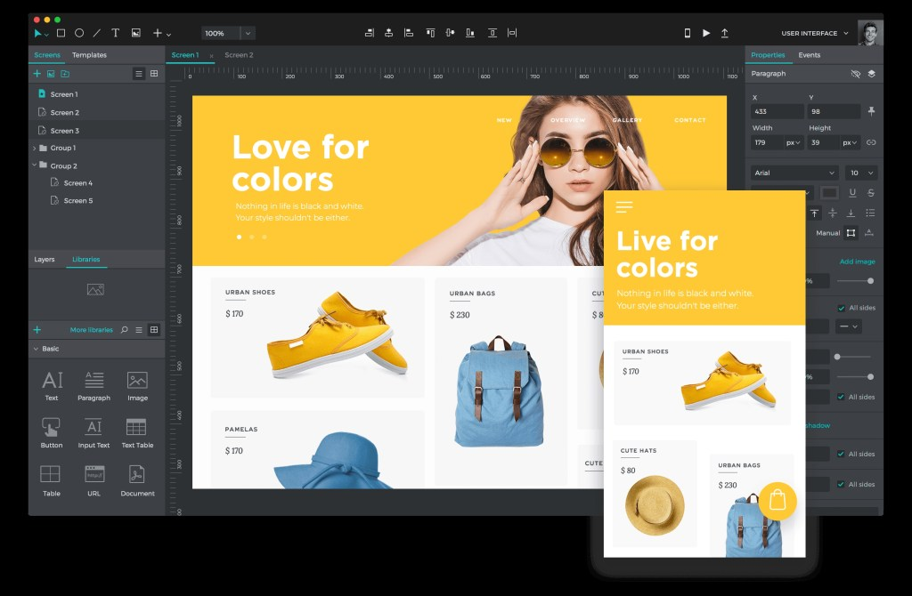 justinmind 9 is here ui design and prototyping come