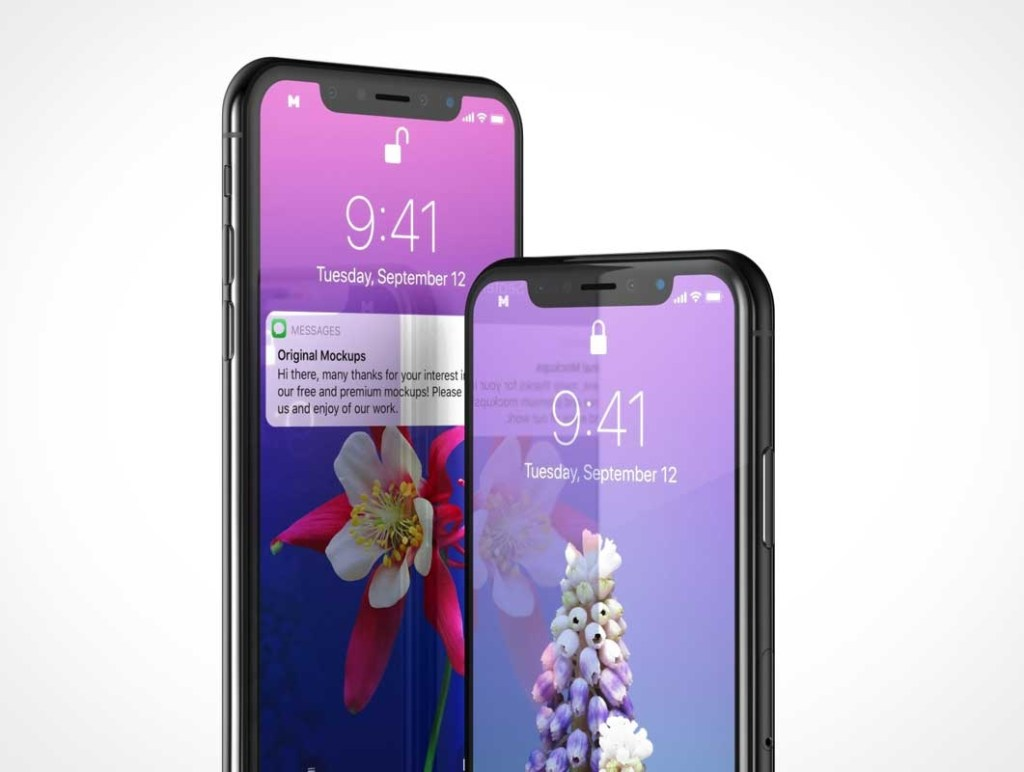 mobile iphone x psd mockup psd mockups