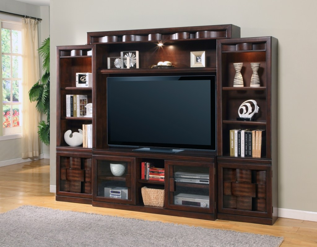 oslo contemporary 60 entertainment wall unit with