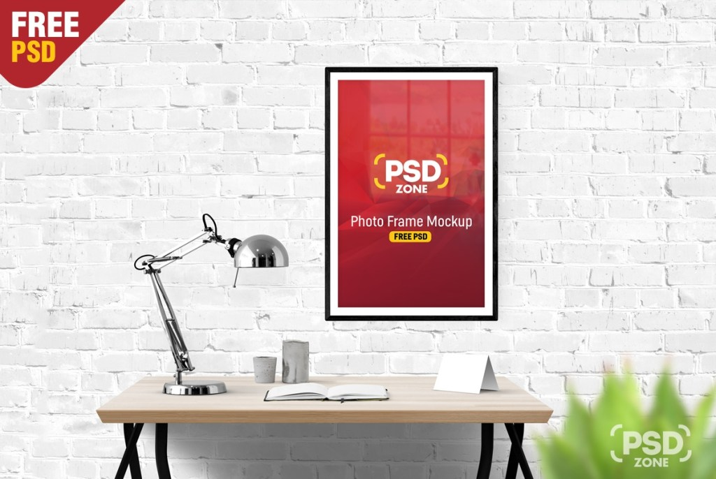 photo frame mockup free psd psd zone