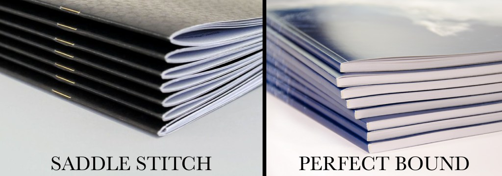 saddle stitch versus perfect bound which one is better for you