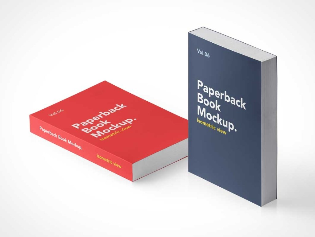 softcover paperback book front covers psd mockups psd mockups