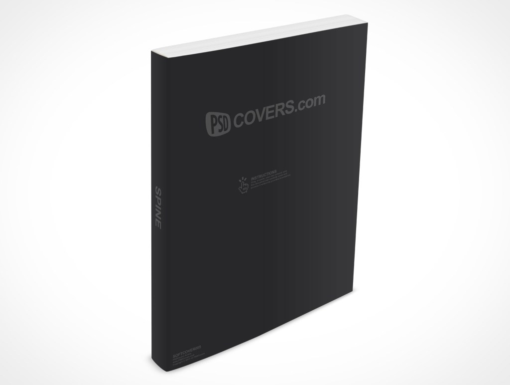 softcover005 market your psd mockups for softcover