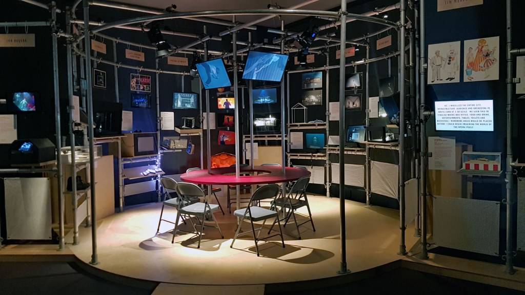 va exhibition looks at the theatre stage