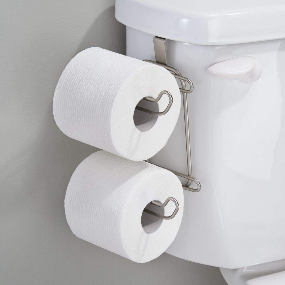 where can i put my toilet paper holder in a small bathroom