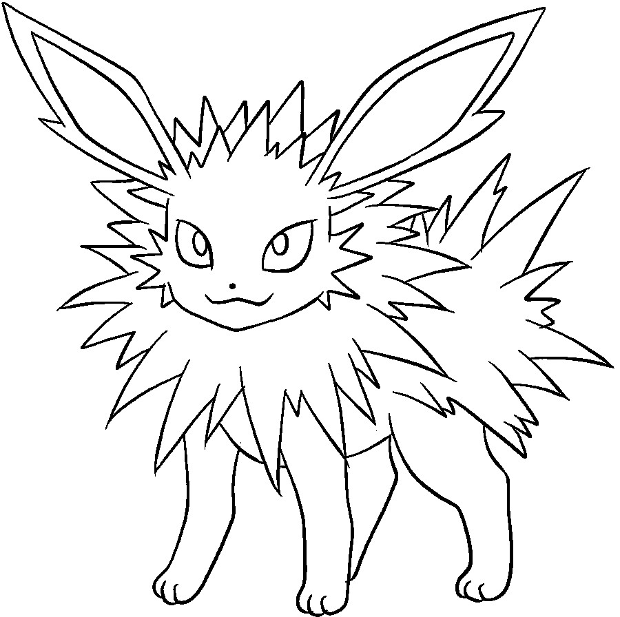 Eevee Coloring Pages For High Schooler