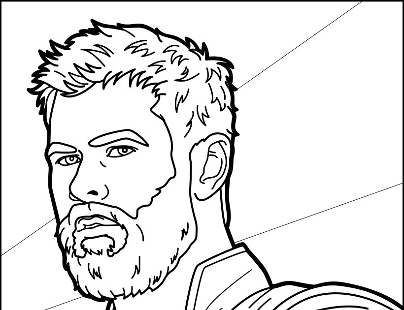 Coloring Pages Of Thor