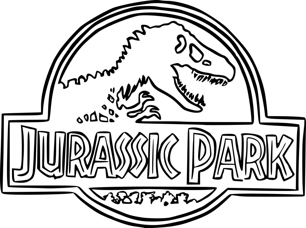 Jurassic World Blue Coloring Pages