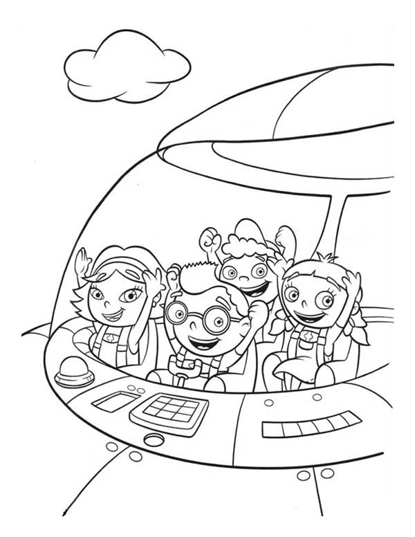 Little Einsteins Coloring Pages Gallery