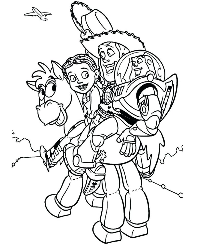 Toy Story 4 Forky Coloring Pages