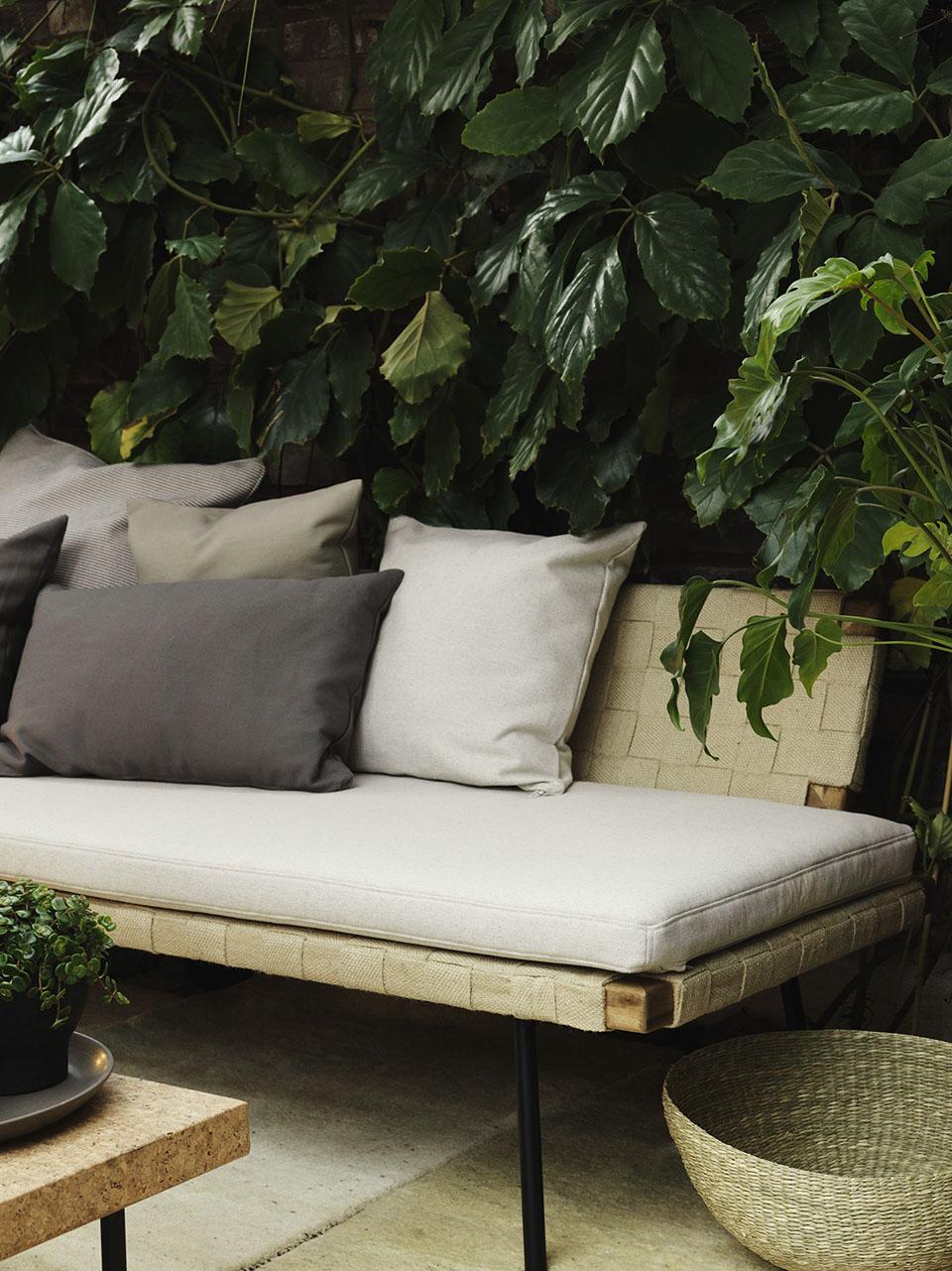 Ikea x Ilse Crawford   MilK decoration on Belham Living Lilianna Outdoor Daybed id=21194