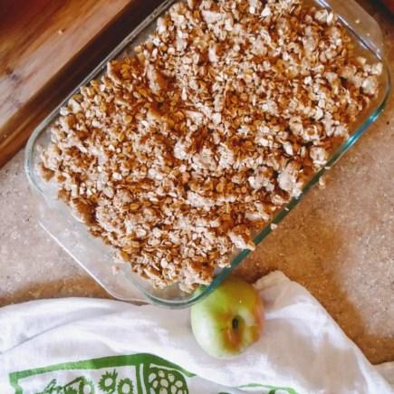 gravenstein apple crisp