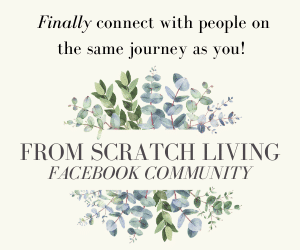 from scratch living facebook group