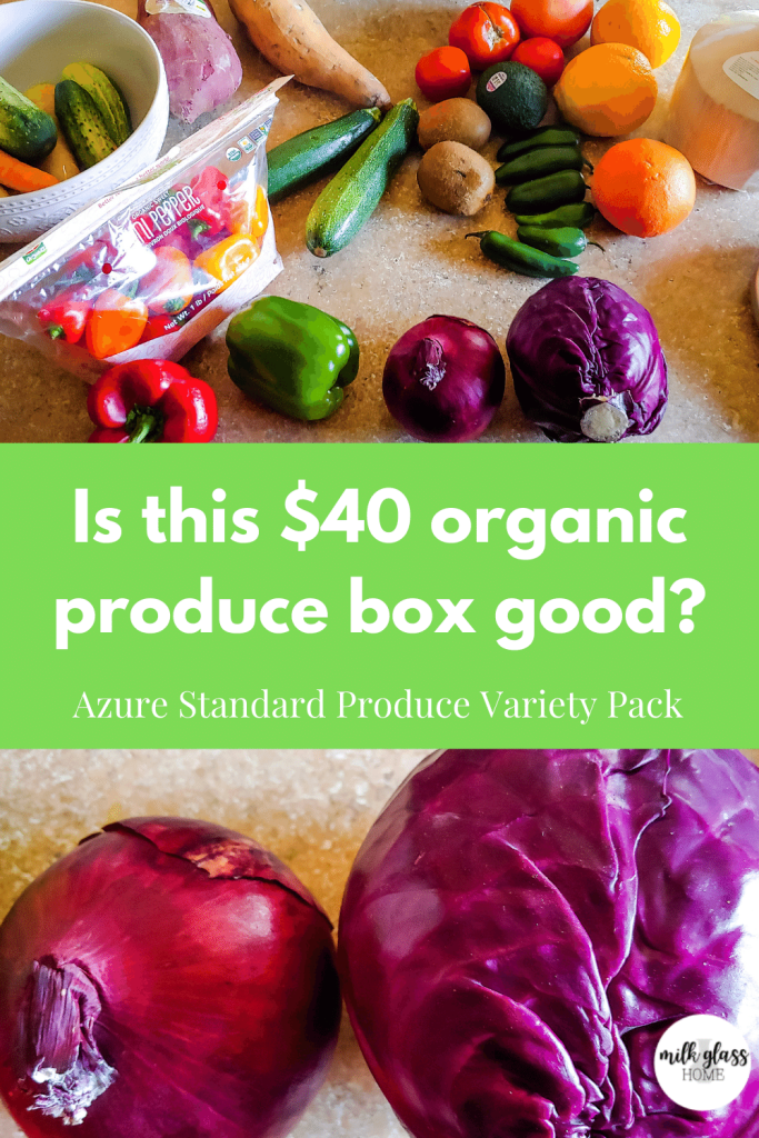 azure standard produce box review