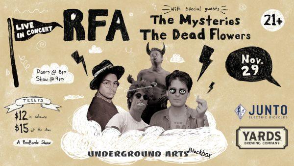 RFA at Underground Arts Philadelphia